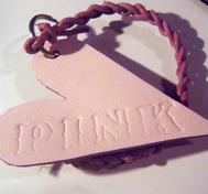 Elin Nyckelring - Love pink