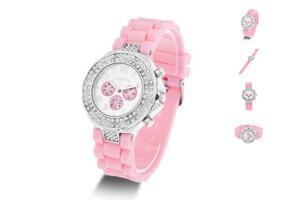 Pink Geneva Bling