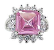 Crystalpink Ring