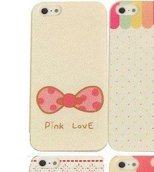 PINK LOVE BOW Iphone 5c